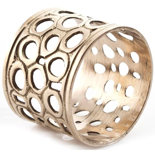 Picture of JHALI napkin ring gold
