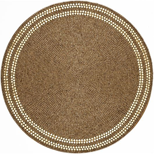 Picture of SUJAY place mat d38cm gold