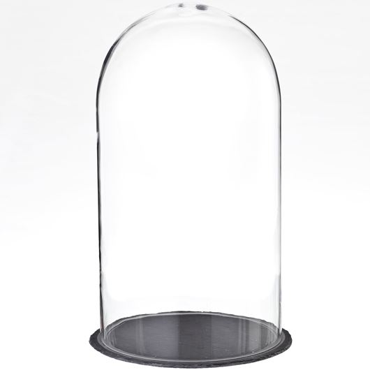 Picture of AFRA dome with base h52cm clear/black