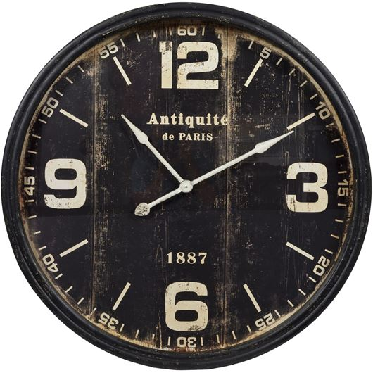 Picture of BRICE clock d98cm black