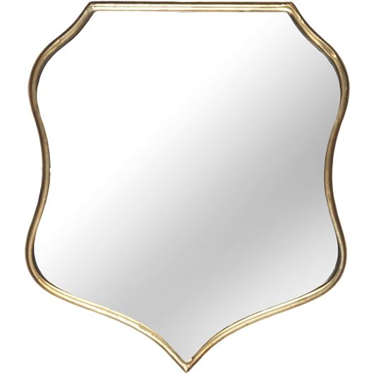 Picture of MILES mirror 46x40 gold