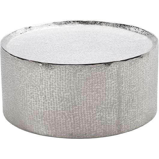 MASON coffee table d80cm nickel