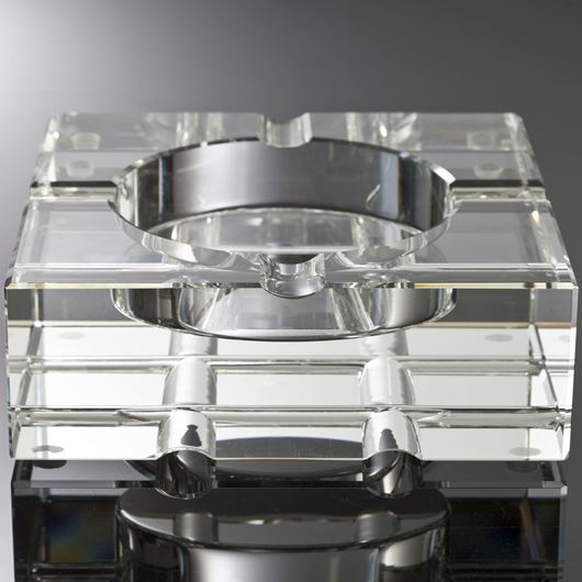 Picture of KAEL ashtray 20x20 clear