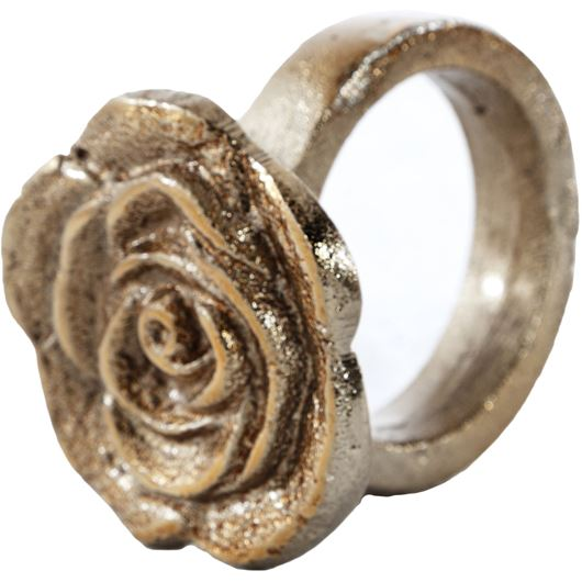 Picture of ROSALIE napkin ring gold
