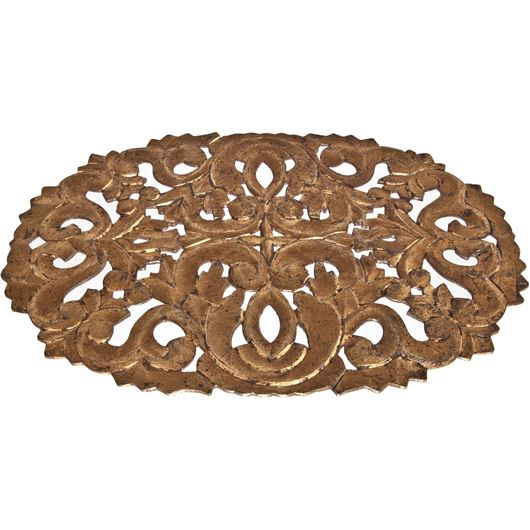 Picture of RIVERA place mat 50x35 gold