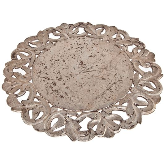 Picture of RIVERA place mat d39cm silver
