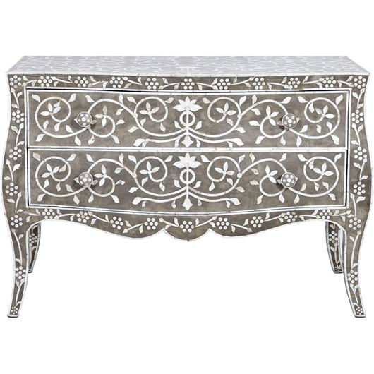 Picture of SIRHI chest 2 drawers grey