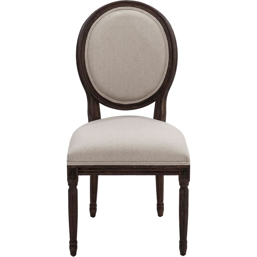 PARDON dining chair natural/brown