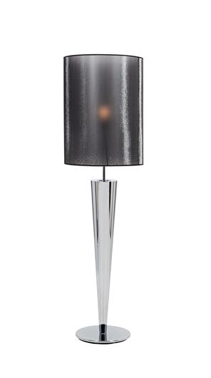 Picture of NOX floor lamp h180cm grey/silver
