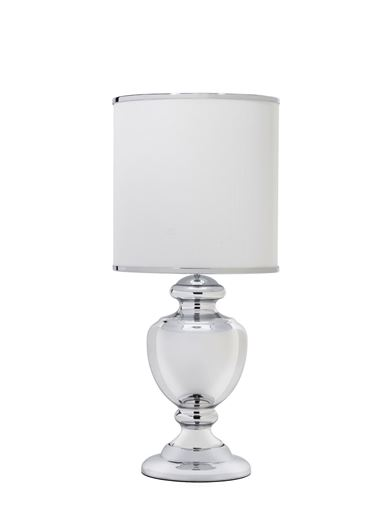 ONX table lamp h80cm white/silver