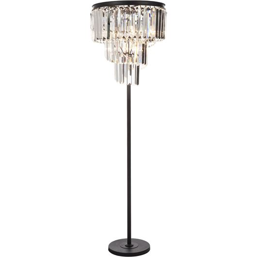 Picture of DALLON floor lamp h172cm clear