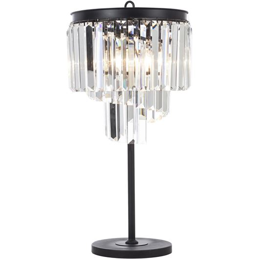 Picture of DALLON table lamp h75cm clear