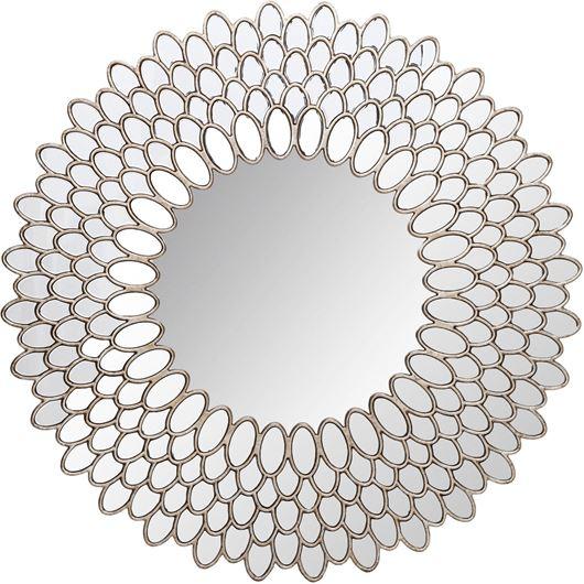KERRY mirror d110cm clear/silver