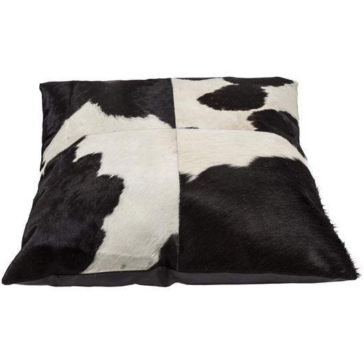 Picture of MONTANA floor cushion 80x80 black/white