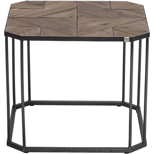 Picture of NIKS side table 50x50 natural/black