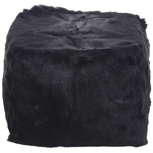 Picture of ZHEN pouf 45x45 black