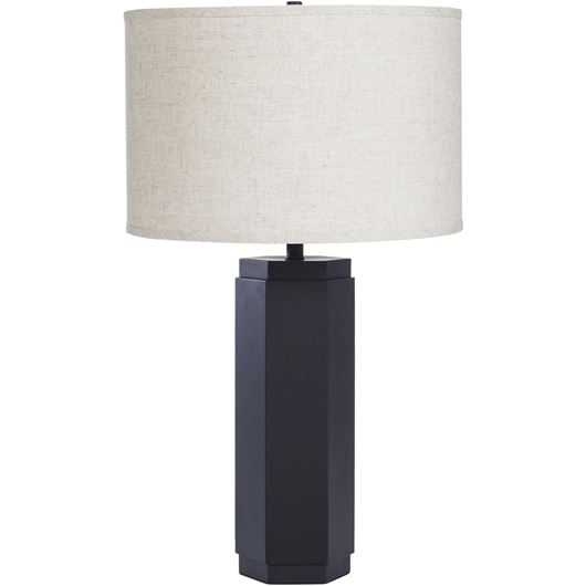 Picture of ABA table lamp h64cm beige/black