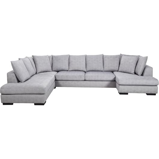 Picture of PASO sofa U shape Left silver