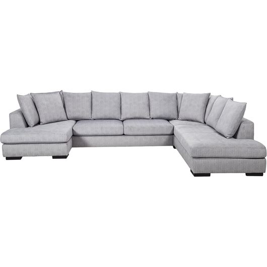 Picture of PASO sofa U shape Right silver