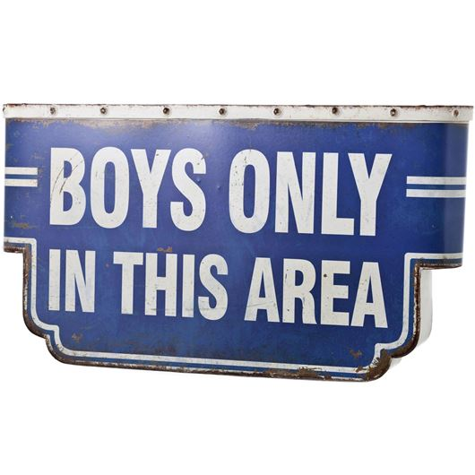 Picture of BOYS wall decoration 53x29 blue