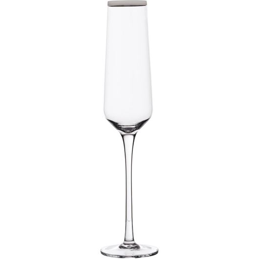 Picture of PLATIN champagne glass h26cm clear