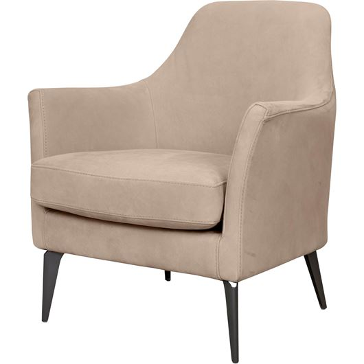 Picture of DIONE armchair leather beige