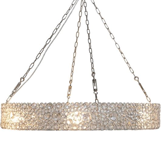 Picture of BATASHA pendant lamp d90cm clear