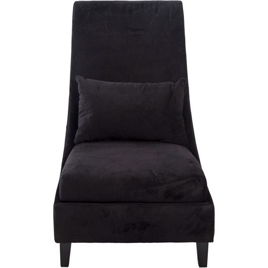 Picture of BADU armchair black