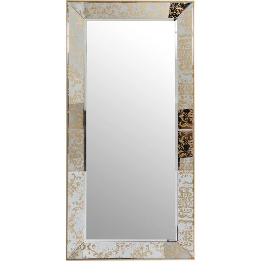 Picture of ABY mirror 200x100 clear/gold