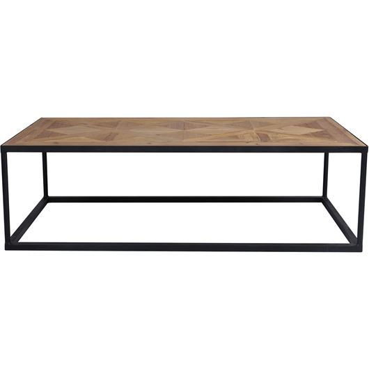 Picture of LUZ coffee table 125x65 brown/black