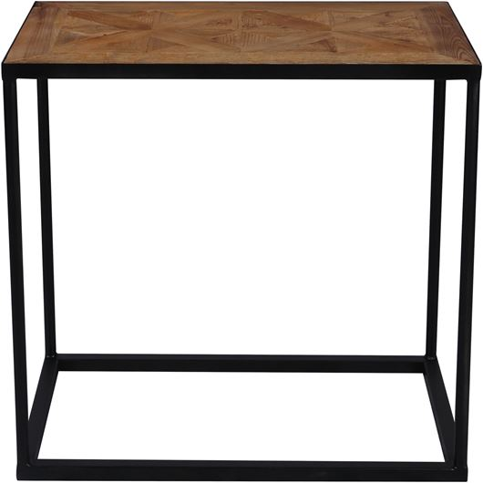 Picture of LUZ side table 66x38 brown/black