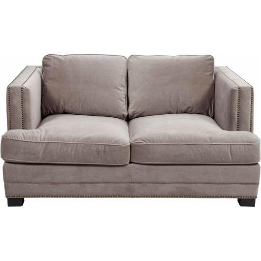 Picture of ASTEN sofa 2 microfibre taupe