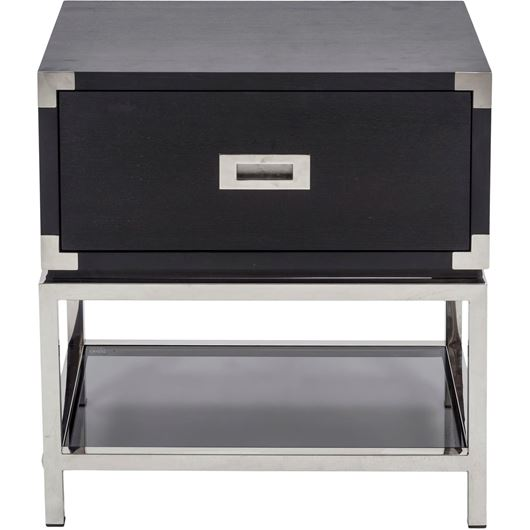 Picture of LEC bedside table black