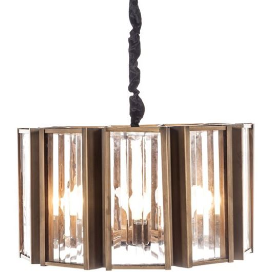 Picture of AMI chandelier d63cm clear/copper