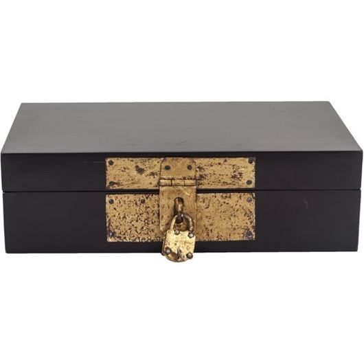 Picture of AKILAH box 20x34 black/gold