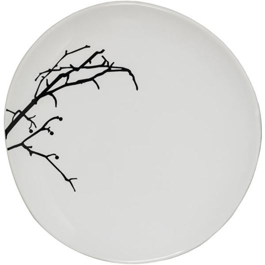 Picture of BRANCH side plate d20cm white
