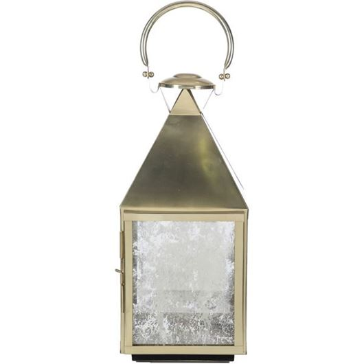 Picture of ADELLA lantern h54cm gold