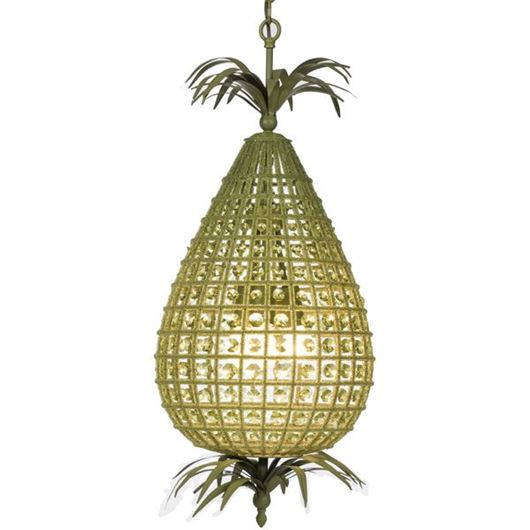 Picture of AKI chandelier d36cm green