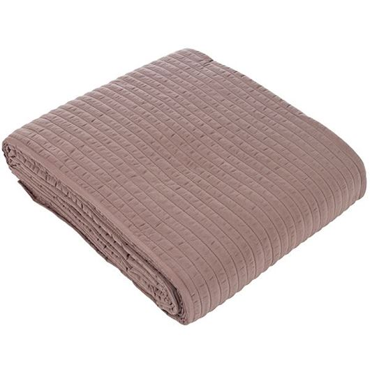 Picture of MEERA bedspread 230x250 taupe