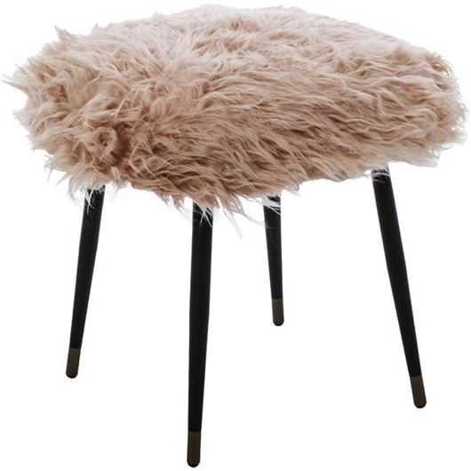 Picture of JERMA stool 57x57 pink