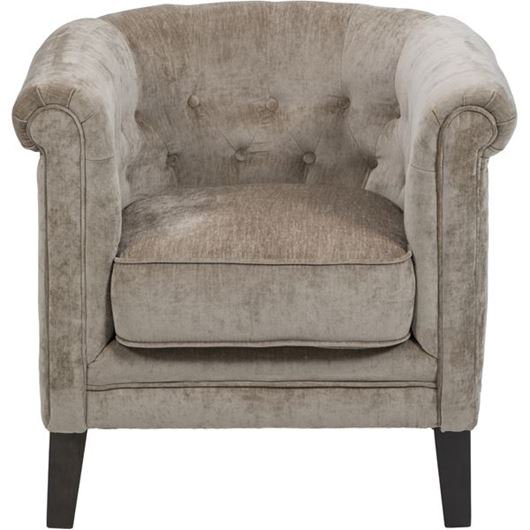 Picture of WINDSOR armchair taupe