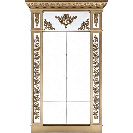 ALEXA mirror 229x142 clear/gold