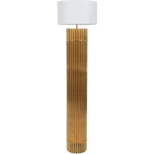 Picture of SIA floor lamp h185cm white/gold