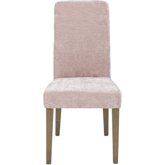 Picture of RICH dining chair pink/taupe