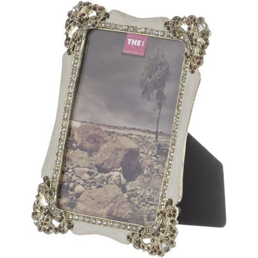 Picture of AFRON photo frame 10x15 gold/cream