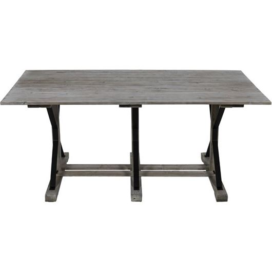Picture of NETT dining table 180x100 grey