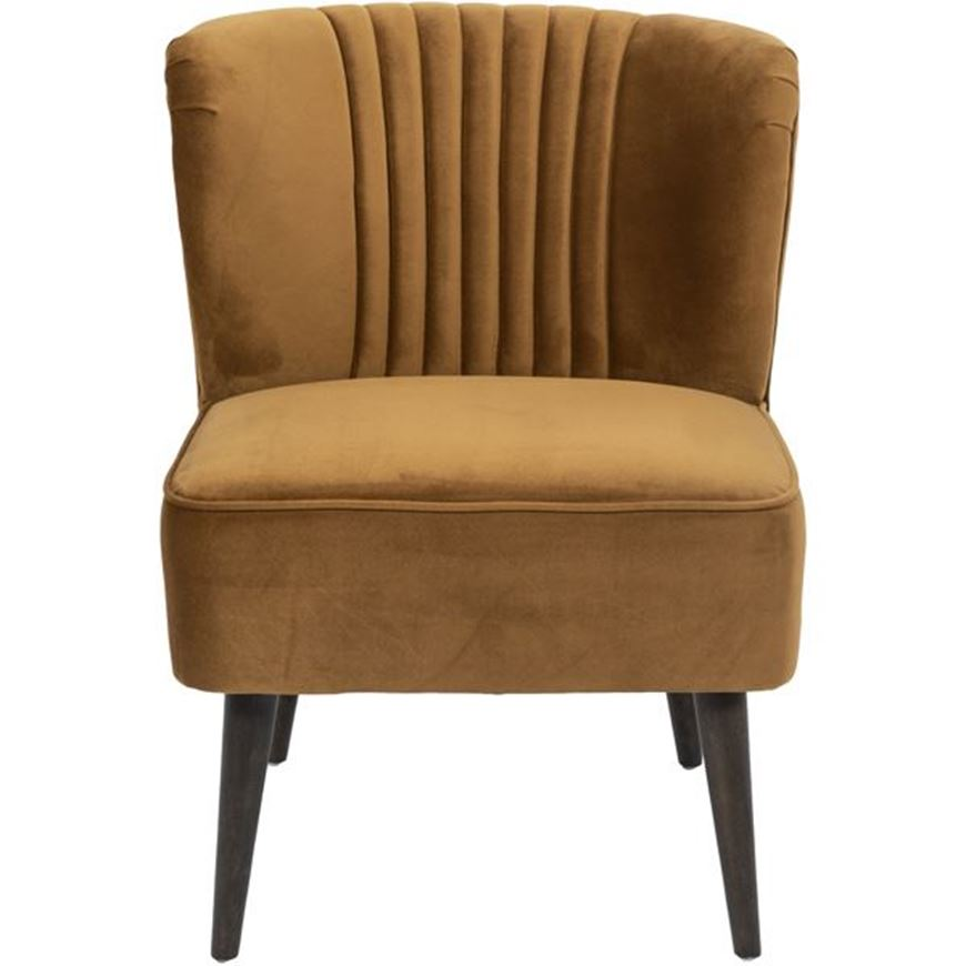 Picture of FLO armchair brown