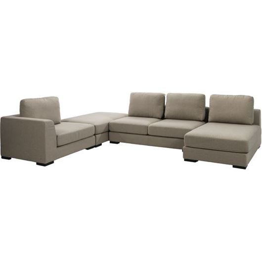 Picture of SWINN corner sofa beige