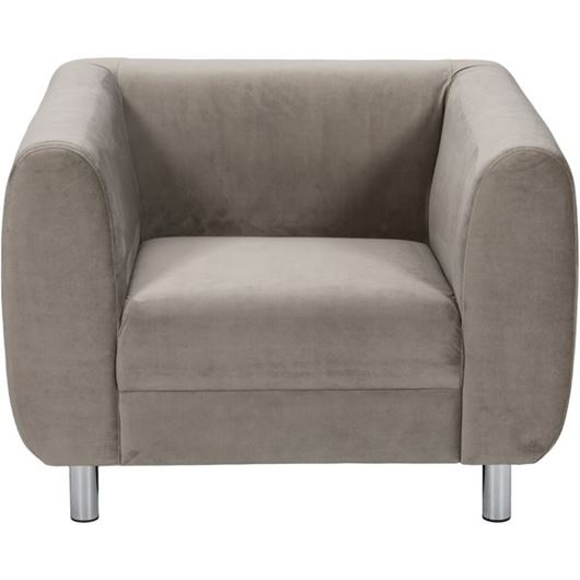 Picture of GOTO chair microfibre taupe
