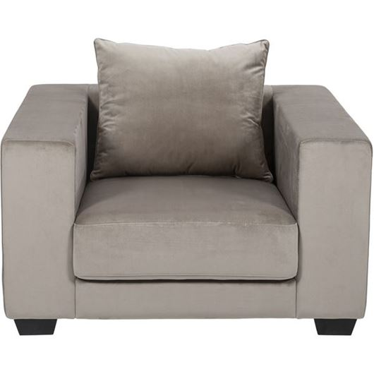 Picture of SPUD chair microfibre taupe